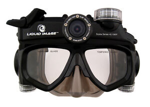Liquid Image Model 324 Wide Angle Scuba Series HD 1080P Camera Mask  Midsize S/M