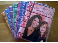 DVD Gilmore Girls the Complete Series 1 to 7 excellent condition 12 & PG
