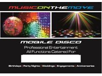 MOBILE DISCO & DJ HIRE-£150 ANY FUNCTION