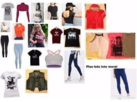 Wholesale Joblot ladies clothing bundle - Over 50 top quality items tops jeans jackets etc only £25