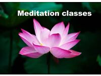 Meditation classes every Thursday 7pm. Cost £5.00