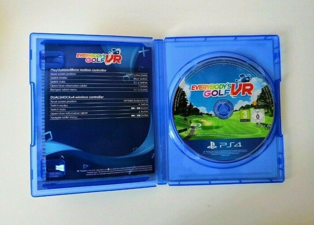Everybody's Golf VR [PSVR] PS4   in Bolton, Manchester   Gumtree