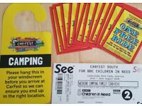 Weekend Family Camping Carfest ticket