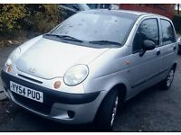 Daewoo matiz yaris low mileage