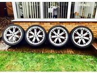 "Range Rover Overfinch Style Super 7 Sport 22"" Alloy Wheels, Alloys"