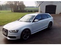 Audi A4 Avant Sline Black Edition