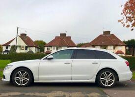 Audi A6 Avant 3.0 TDI S Line S Tronic Quattro, Sun Roof, White Perl