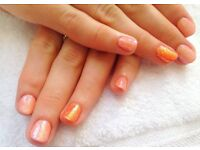 Mobile CND Shellac nails, manicures and pedicures, fully qualified, salon experience.
