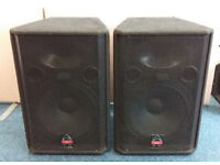 Pair of Wharfedale Pro EVP-X15 600 Watt 15 inch 2 way Speakers Save £200 on NEW!