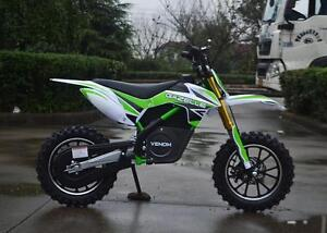 BRAND NEW ELECTRIC DIRT BIKE 500W 24V! GREAT 4 KIDS! $600 TAX IN! ORANGE / BLUE / GREEN / RED