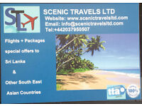 Travel abroad, cheap flights and special holiday packages to Sri Lanka and Southeast Asia