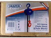 Draper Expert 0.5 Tonne Chain Hoist 26164 part no. CH500B