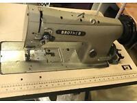 Brother LS2-B837 industrial walking foot machine