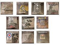 Rare Skrewdriver LP Vinyl Collection