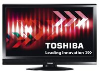 Quality Toshiba 32inch LCD TV with three 1080i HDMIs with integrated Digital Freeview TV