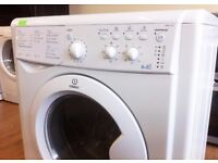 INDESIT - White , 6+5KG , 1400 WASHER DRYER + 3 Months Guarantee + FREE LOCAL DELIVERY