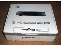 Zgemma H2S dual tuner satellite receiver for sale