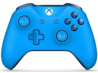 Xbox One S Wireless Controller in Blue (Boxed)
