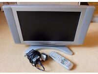 "Goodmans 17"" Widescreen TV, Remote Control & 12V Power Supply"
