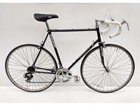 vintage Raleigh Steel Pursuit racing bicycle