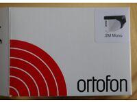 Ortofon 2M Mono moving magnet cartridge, less than 15 hrs use, free postage