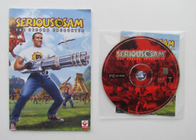 Serious Sam The Second Encounter, PC game, 1 CD, Croteam