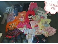 Baby clothes 12-18