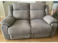 Grey Recliner sofa can deliver