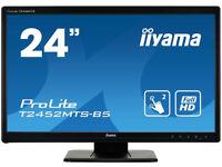 iiyama T2452MTS 24 INCH TOUCH SCREEN MONITOR GAMING & GRAPHICS