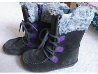 Girls Clarks boots size 10F
