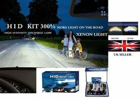 XENON HID CONVERSION KIT 300% more light on the road UK STOCK in nottingham