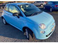 Fiat, 500, Hatchback, 2013, Manual, 1242 (cc), 3 doors