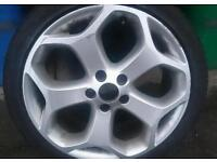 Ford focus st alloy wheel swap parts
