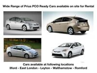 PCO - Uber Ready Toyota Prius from £125