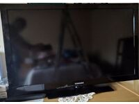 Samsung LE40D503F7W 40 Inch 1080p LCD TV with Freeview.