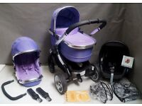 iCandy Peach 2 PARMA VIOLET FULL TRAVEL SYSTEM !!!
