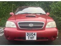 AUTOMATIC DIESEL 7 SEATS 2004 KIA SEDONA LE 2.9 CRDI 16V 145 BHP 12 MONTHS MOT