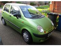 Daewoo Matiz 1.0SE - 10 months MOT - 2004 - Good clean car