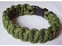 Paracord Wristband solomon / Cobra Stitch