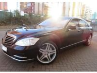 Mercedes S500 L V8 5.5 Top Of The Range Cost £100k When New AMG Styling Limousine LWB 7G-TRONIC