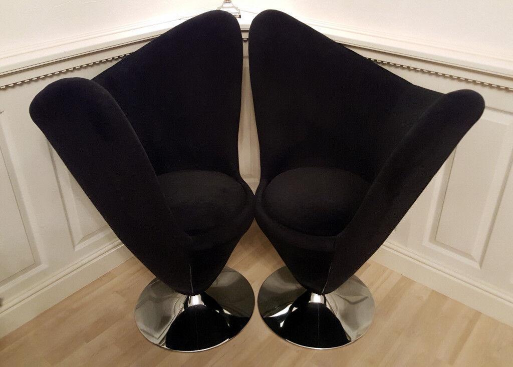 Wondrous 2 Black Funky Lexus Swivel Chairs In Lenton Nottinghamshire Gumtree Creativecarmelina Interior Chair Design Creativecarmelinacom