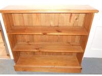 Solid Pine Bookcase - Bookshelves - DVD Shelves - Display Shelves