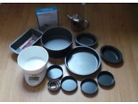 Baking items for sale mostly new £5
