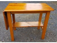 Rustic Solid Pine Kitchen Island Cutting Table