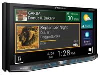 Pioneer double din mp3 with Bluetooth media