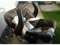Graco car seat group 0