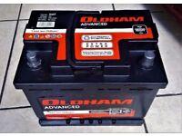 Oldham advanced 590amp 20ah 075 car or van battery