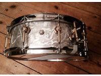 Snare drum Vintage Abb in aluminium