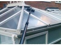 Windows/Frames/Gutters/Fascias/Soffits/Doors/Conservatory+Roofs Cleaning Nottingham