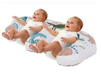 TWIN FEEDING/ NURSING PILLOW FOR COMPLETE SUPPORT